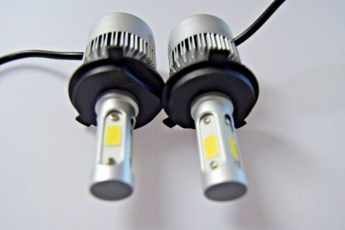 fits NISSAN NOTE 2006-2017 Headlight LED Kit set 2x H4 Bulbs PURE WHITE+501