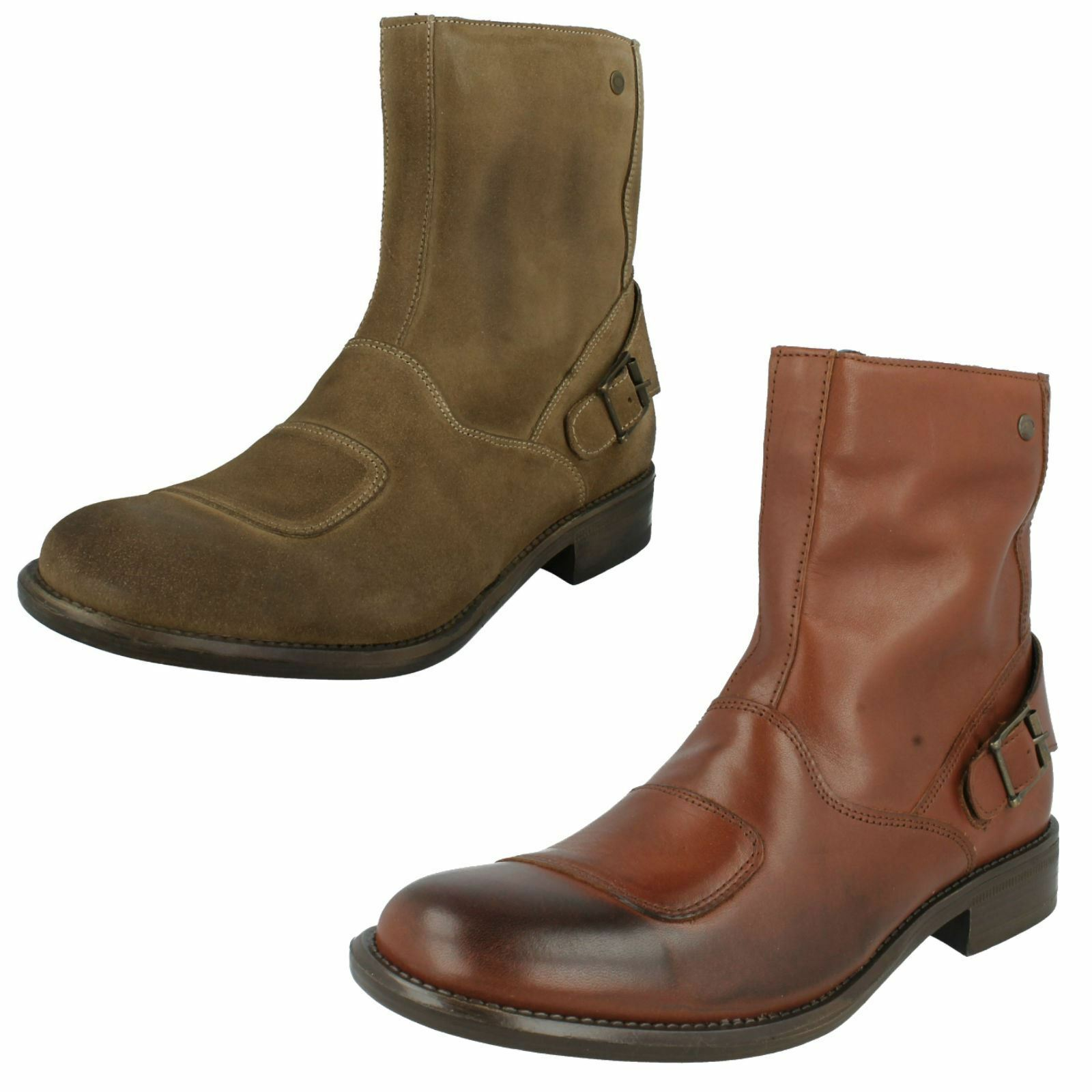 Mens Base London Ankle Boots Style - Classic