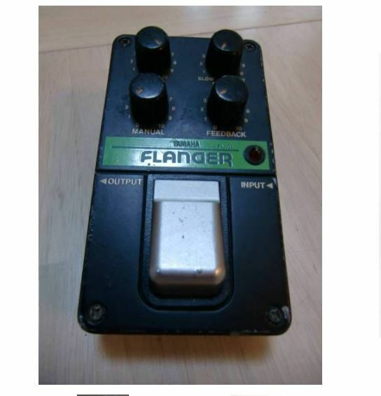 80's YAMAHA FL-01 VINTAGEFLANGER Guitar Effects Pedal w Tracking Number F S