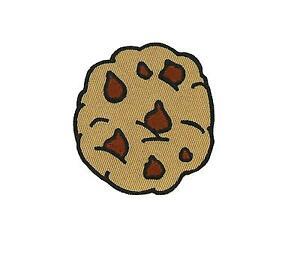 Patch-embroidered-iron-on-cloth-badges-kawaii-biker-cookies-cookie-applique