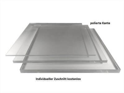 Acrylglas Zuschnitt Plexiglas Zuschnitt 2-8mm Platte//Scheibe klar//transparent 2 mm, 900 x 300 mm