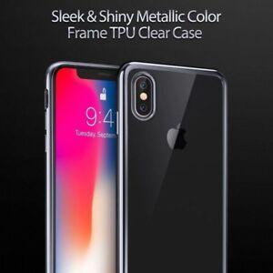 Para Apple iPhone 2017 X ultra delgada suave TPU piel de la cubierta protectora transparente Funda au