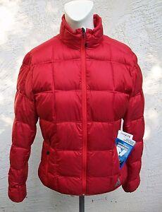 New-Eddie-Bauer-First-Ascent-Womens-Downlight-Jacket-Coat-Dark-Red-NWT-Down