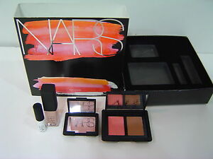NIB-Nars-Wicked-Attraction-Set-Eyeshadow-Base-Blush-Bronzing-Powder-Lip-Gloss