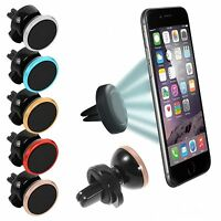 Universal Car Magnetic Air Vent Mount Holder Stand For Mobile Samsung iPhones