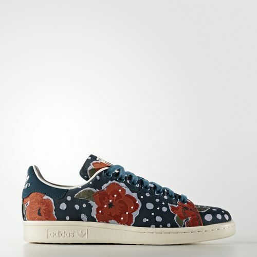 NEW ADIDAS WOMEN'S ORIGINALS STAN SMITH JACQUARD SHOES [S32255]  WOMEN US 5.5