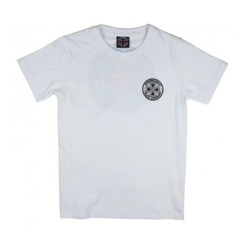 Genuine Independent Colours Youth Kids T-Shirt White