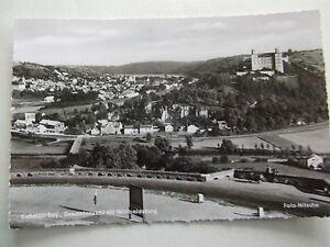 3051-Postkarte-alt-AK-Eichstaett-Gesamtansicht-mit-Willibaldsburg