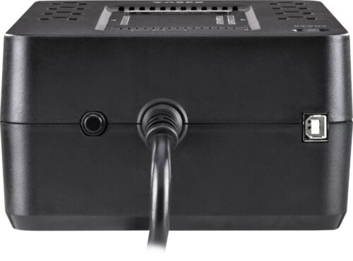Black CyberPower 650VA Battery Back-Up System