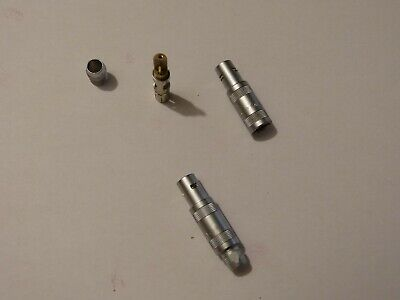 1 Stück LEMO Stecker FFA.1S 4-polig Neu und unbenutzt