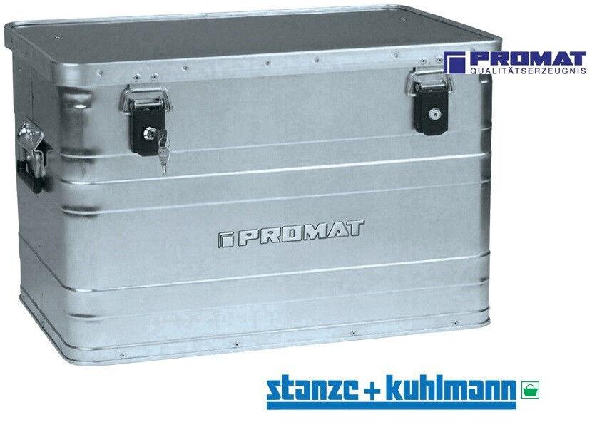 PROMAT Aluminiumbox 70 l L595xB390xH380mm mit Klappverschlüssen und Schlösser  | Erste Gruppe von Kunden