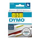 Dymo D1 Label Tape 19mm X 7m Black on Yellow