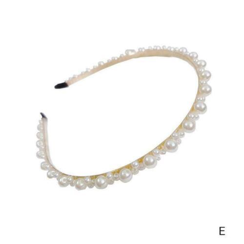 Luxuxperlen Stirnband Frauen Haarreif Hoops Mädchen Haar Geschenk Zugang Br P7P1