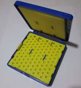 New-177-4-5mm-Match-Box-Shaker-Box-Organize-amp-Protect-your-pellets-Blue