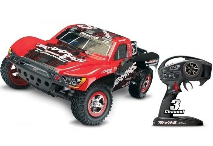 TRAXXAS trx58076-4  Slash VXL 2wd 1 10 BL 2.4ghz TQI TSM Fox  conveniente