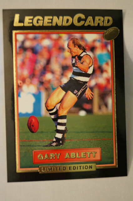 GEELONG - Limited Edition - Legend Card - Gary Ablett.