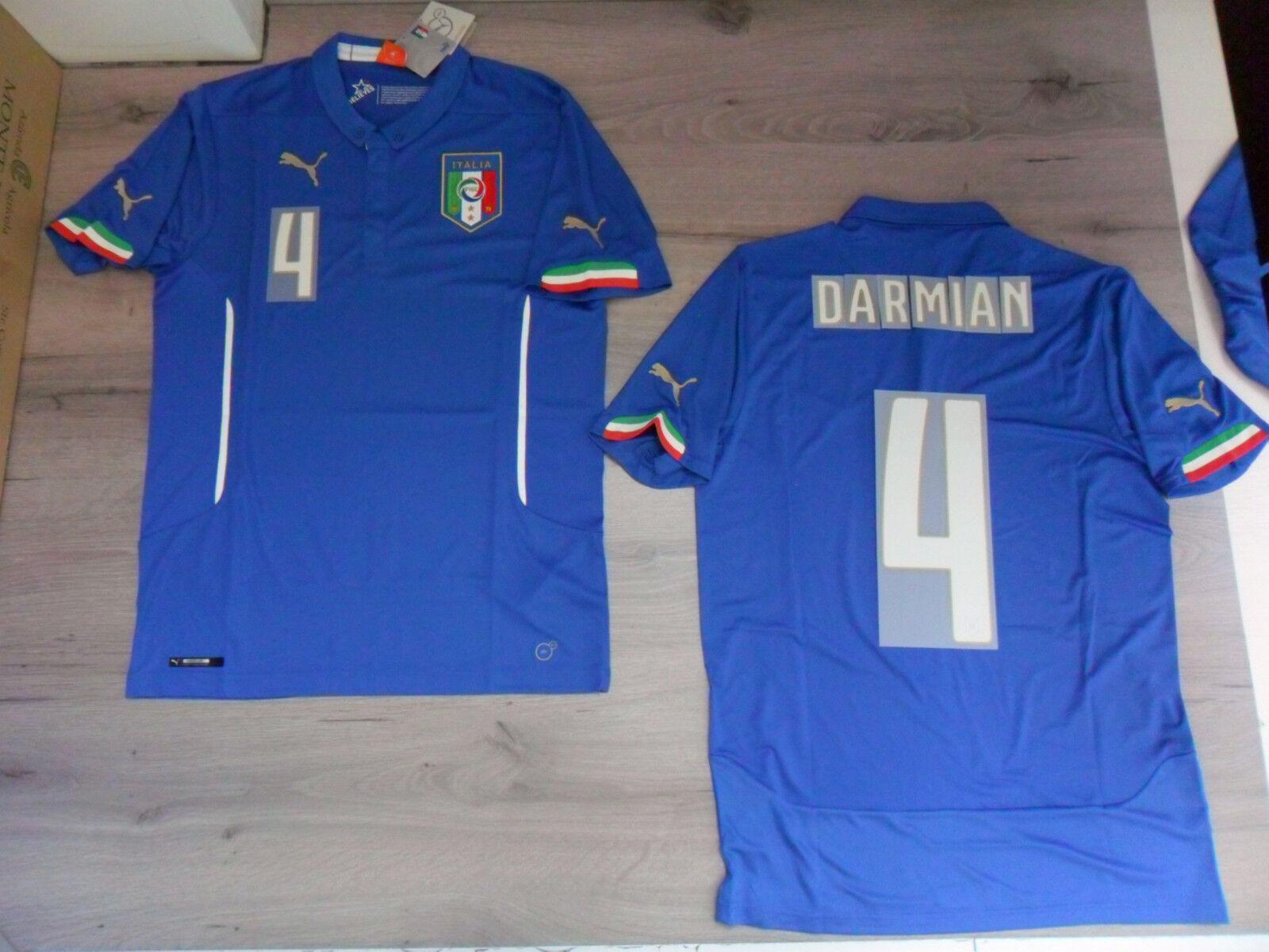 FW14 PUMA M NACH HAUSE ITALIEN 4 4 ITALIEN DARMIAN T-SHIRT WELT TRIKOT JERSEY b7e1b2