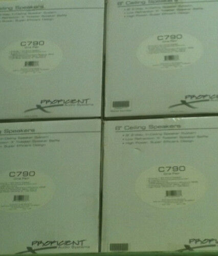 Proficient C790 Main   Stereo Speakers