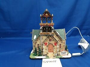 Lemax Village Collection Hillside Bell Chapel #45729 As Is SV0077