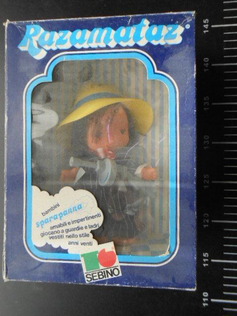 consegna diretta e rapida in fabbrica Sebino Sebino Sebino Sparapanna Gangster Bugsy Malone Character bambola   Vintage bambola  in vendita scontato del 70%