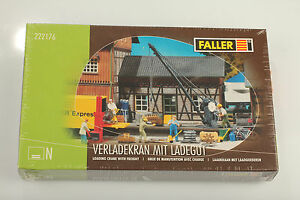 FALLER-N-222176-Grua-de-descarga-con-la-carga-en-emb-orig