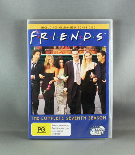 "1 of 1 - FRIENDS ""THE COMPLETE SEVENTH SEASON"" EPISODES 1-24 ""REGION 4 PAL"" - NEW/SEALED"