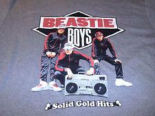 Beastie Boys Mens Rock N Roll Gray & Black T-Shirt Size Medium M