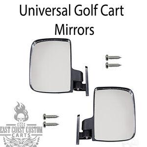 EZGO-Club-Car-Yamaha-Golf-Cart-Universal-Review-Mirrors-Side-Mount-Mirror