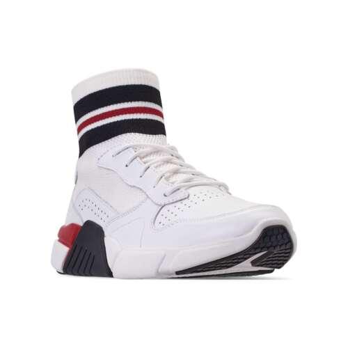 NEW Mark Nason Los Angeles Men's Block Varsity Lace Up Woven Knit Sock Fit Shoes
