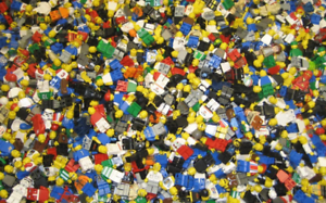 Lego-lot-Bulk-Minifigures-parts-pieces-100-Lego-Star-Wars-City-Etc