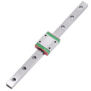MGN15C Linear Rail Guide Block Carriage MR15 15mm  500mm  Miniature