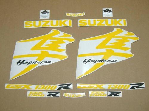 Hayabusa 1340 K8 decals stickers graphics kit set yellow k9 k10 l4 l5 l6 l7 busa