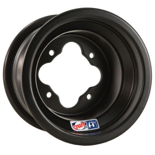 "DWT Black A5 Rolled Lip ATV Front Wheel 10/"" 10x5 4+1 4//156 Yamaha Raptor 660 700"