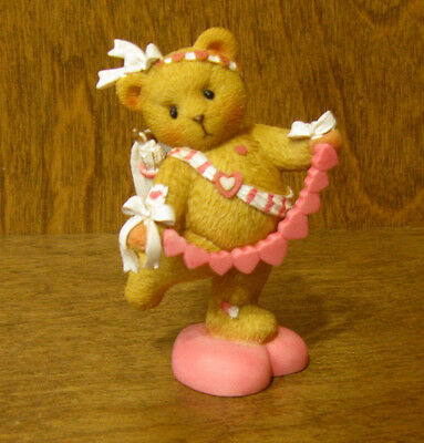 Cherished Teddies #4025784 ANNELLE...YOU PULL MY HEART STRINGS, VALENTINES, MIB