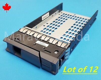 "3.5/"" SAS SATA Hard Drive Tray Caddy For IBM HIV HS-1235T Server"
