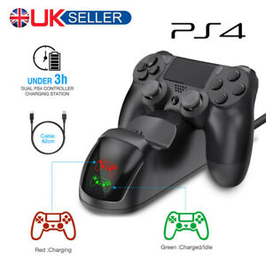 PS4-Dual-Controller-Fast-Charger-Charging-Dock-Station-Stand-Dualshock-Gamepad