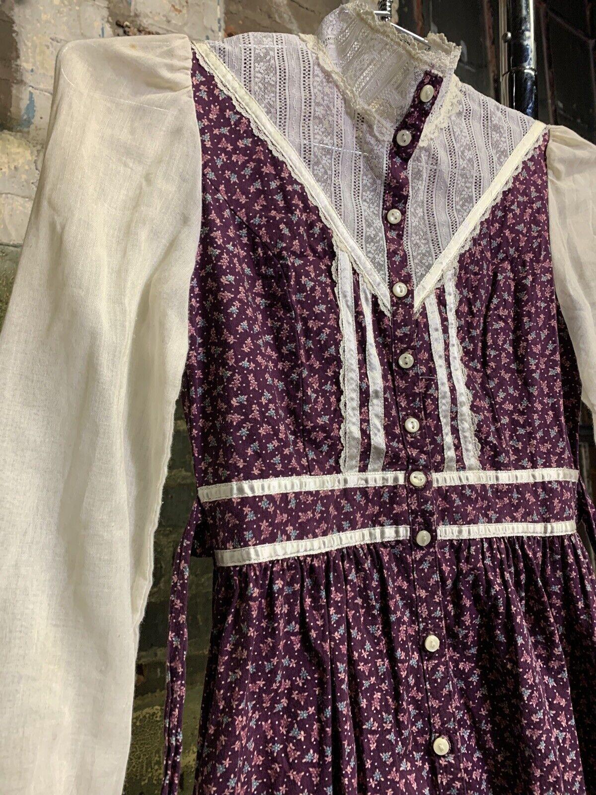 gunne sax 1970s women's vintage dress - image 2