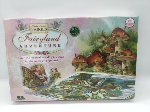 Fairyland Adventure Board Game Based on Shirley Barber's Fairies Factory Sealed