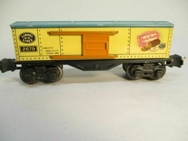 Lionel 27788-27 Package PRR #3854 #3454 Baby Ruth Operating Merchandise Car