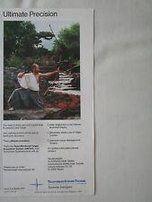 8/1990 PUB TELEFUNKEN DEUTSCHE AEROSPACE HMTAS TARGET ACQUISITION ARC BOW AD