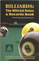 Billiards: The Official Rules & Records Pool Book