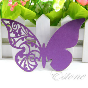 50-100-pcs-Table-Mark-Wine-Glass-Butterfly-Name-Cards-Place-Wedding-Party-Favor