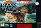BASS Masters Classic (Super Nintendo, 1995)