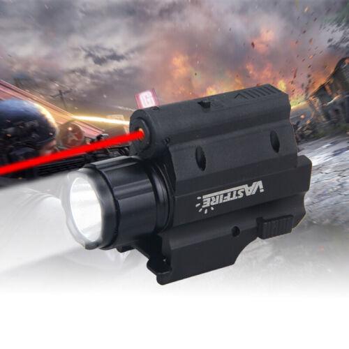 2000LM XPG-R5 Combo LED Red Laser Sight+Flashlight For 20mm Picatinny Rail Mount