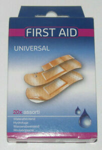 Boite-Lot-x20-Assortiment-Pansement-Adhesif-etanche-Waterproof-Sticking-Plaster