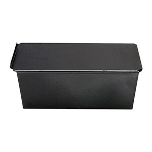 Metal-Baking-Mold-Non-stick-Toast-Bread-Cake-Kitchen-Bakeware-Pan-Black-1kg