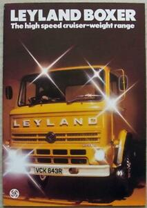 LEYLAND BOXER TRUCKS Commercial Vehicles Sales Brochure c1976 #1468