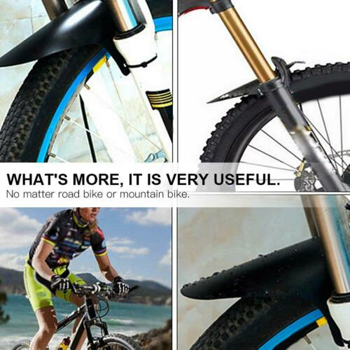 Road Bike Front Fender Mountain Bicycle Removable Tire Tyre Mudguard Accessory