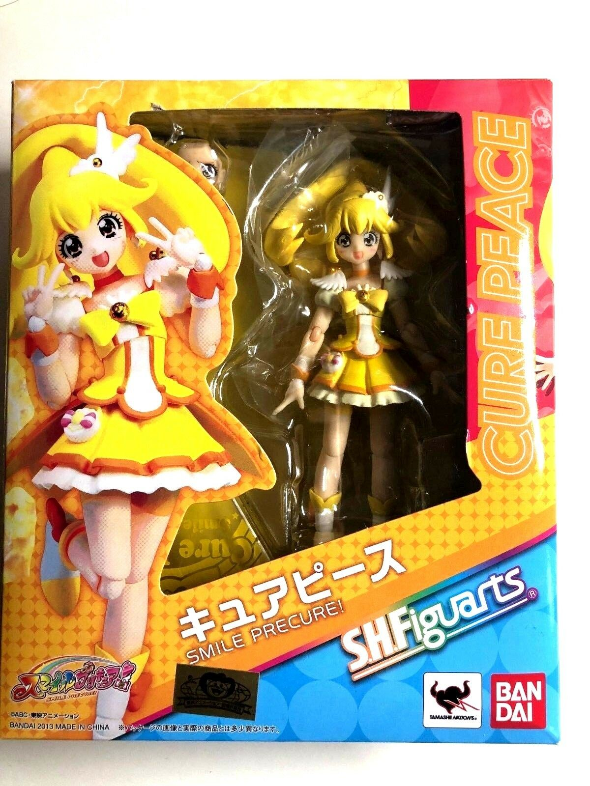Free Shipping from Japan Authentic S.H.Figuarts Cure Peace Smile Precure