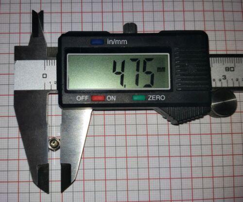 Lot of 4 Jackscrew Hex 4-40 Standoff Screw D-Sub  5mm